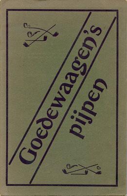 Catalogus Nummer 6 van Goedewaagen Gouda uit het begin van 1900