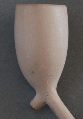 Goedewaagen Gouda (bandstempel) op steel, lengte ca 44 cm