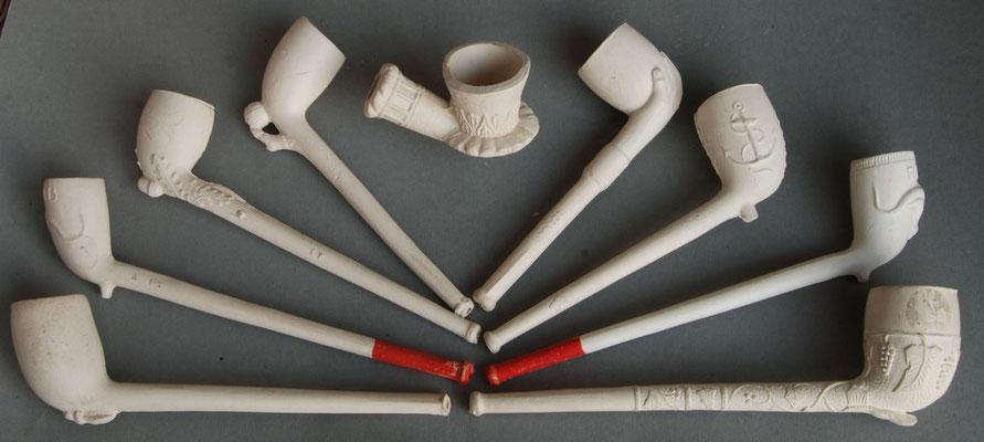 Tot in 1975 werden er in het Westerwald pijpen gemaakt door Paul Hein & Sohn. De meesten  van deze komen uit dat assortiment