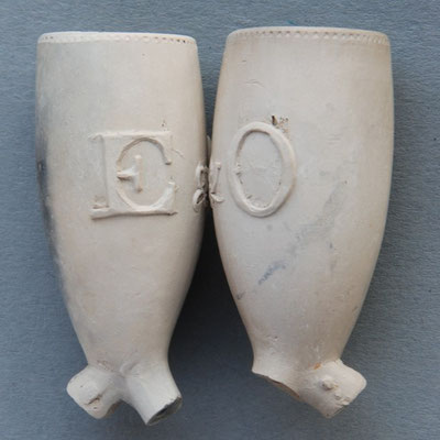 Tekst E&O, waarschijnlijk naam van vereniging of genootschap ca 1780-1850