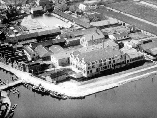 De Goedewaagen fabriek in Gouda, 1932