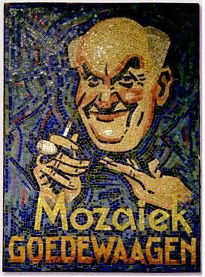Mozaiek ontwerp door Piet van der Hem, 1932
