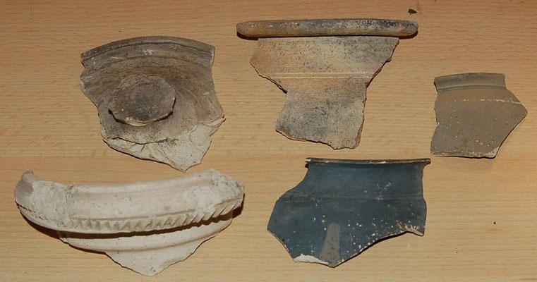Aardewerk fragmenten Leiden, Romeins
