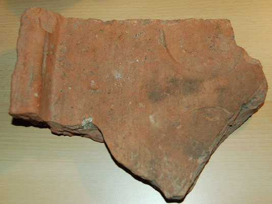 Romeins Dakpan fragment Leiden