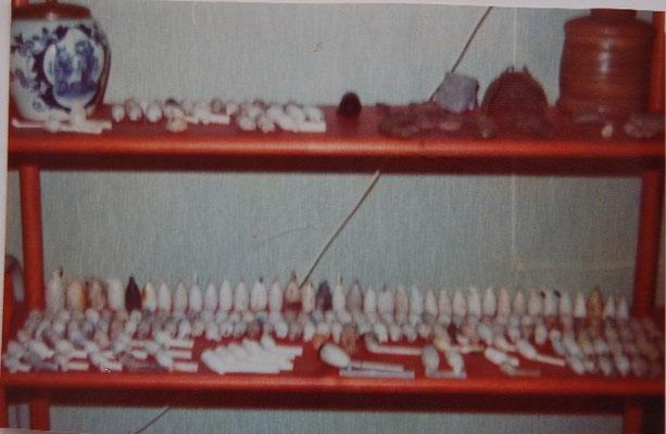 Ca 1975, het begin van de verzameling