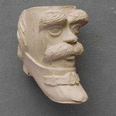 Frederic Soulie, populair model van verschillende franse en belgische fabrikanten ca 1850-1900