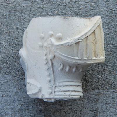 Harnas / Riddergezicht met helm
