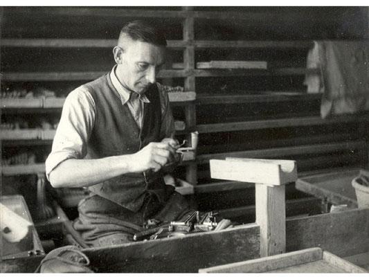 Het afwerken van gekaste pijpen van voor 1940