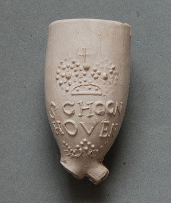 Pijpenkoppen uit Schoonhoven, 2e en 3e kwart van 1700