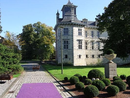Das Schloss in Oud Rekem
