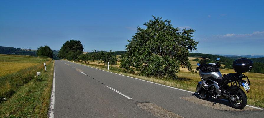 Ruhige Landstraßen