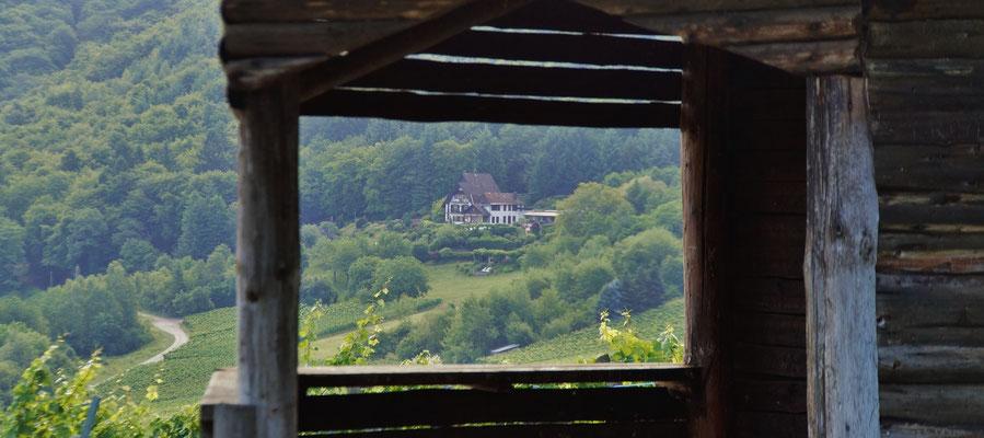 Eine Hütte auf unserem Weg