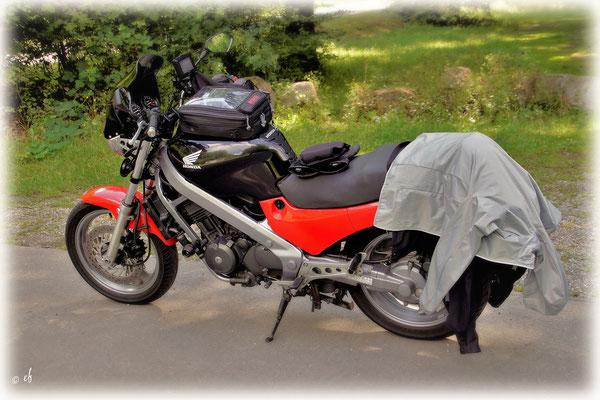 ... & mal die Mopedjacken ausziehen