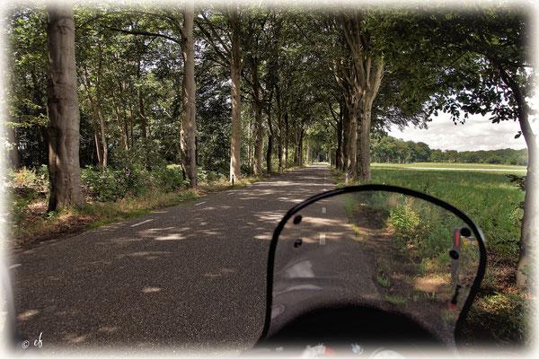 Alleen... schöne Momente beim Motorradfahren