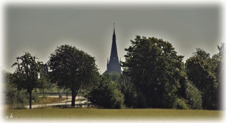 Die St. Lambertus Kirche in Erkelenz