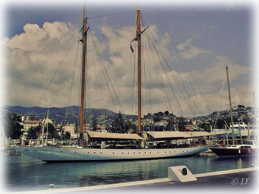 Der Yachthafen von SanRemo