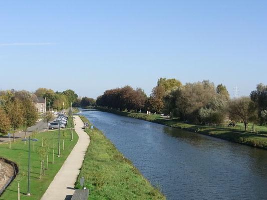 Die Maas bei Oud Rekem