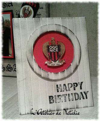 Carte anniversaire OGCNice