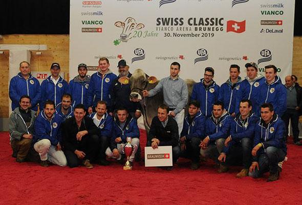 Schweizer Meister 2019 Züchtergruppe St. Gallen