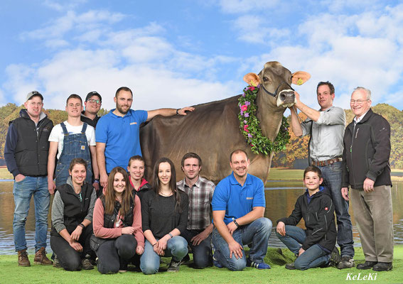Team Braunvieh an der Swiss Expo 2018