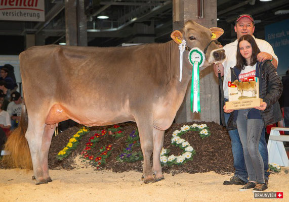 Die Junior Champion Blooming BONANZA von Klocker Stefan