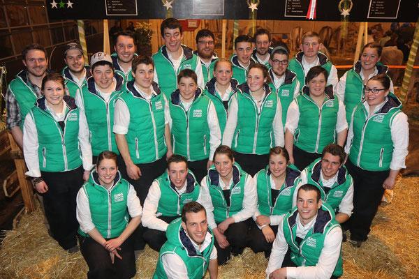 Team des Junior Contest - Jungzüchter Vereinigung St. Gallen / Appenzell