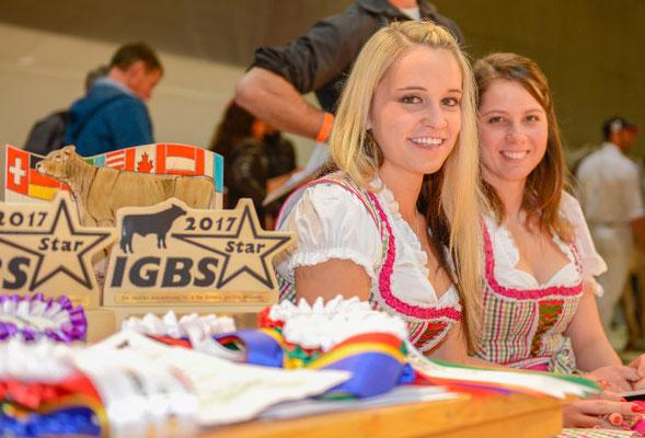 An der IGBS Show mit Antonia