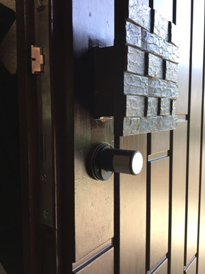 Elektronisches Türschloss für zuhause hohe Sicherheit mit viel Komfort Montagebespiel_03