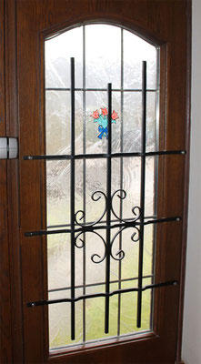 Fenstergitter mehr als nur Einbruchschutz gegen Einbrecher Montagebeispiel_03