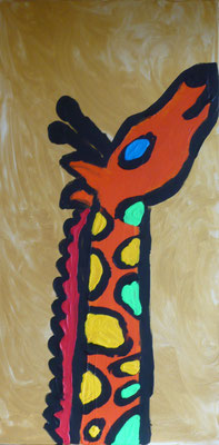 Giraffe oben