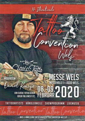 Tattoo-Convention in Wels 2020