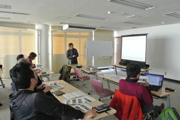 休暇村伊良湖にて学習会