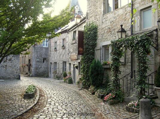 Durbuy Vieille Ville, les ruelles pavées