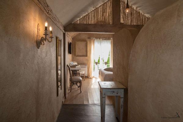 Les Chambres du Vivier, chambres d'hôtes à Durbuy, Ardenne - Chambre Terre