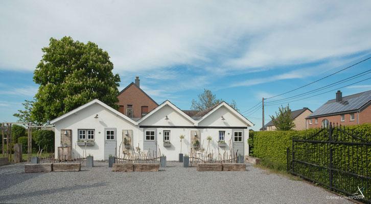 Les Chambres du Vivier, chambres d'hôtes à Durbuy, Ardenne - Façade