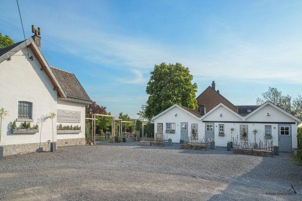 Les Chambres du Vivier, chambres d'hôtes à Durbuy, Ardenne - Vaste parking