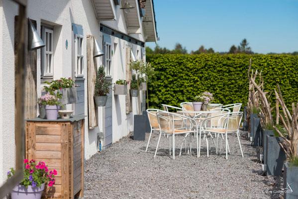 Les Chambres du Vivier, chambres d'hôtes à Durbuy, Ardenne - Détail façade