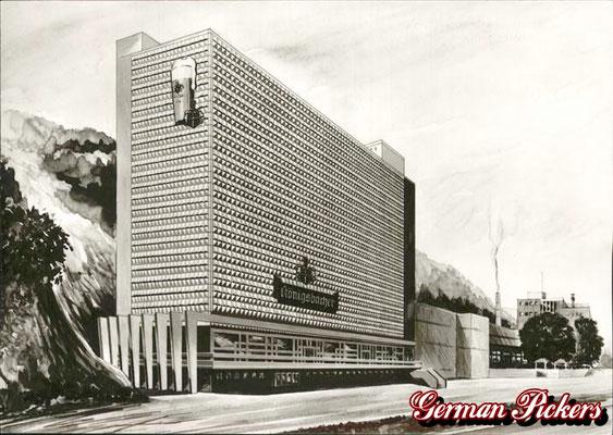 AK / Foto - Alte Ansicht der Königsbacher Brauerei aus Koblenz um 1960