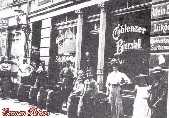AK / Foto Wirtshaus Coblenzer Bierstall Koblenz