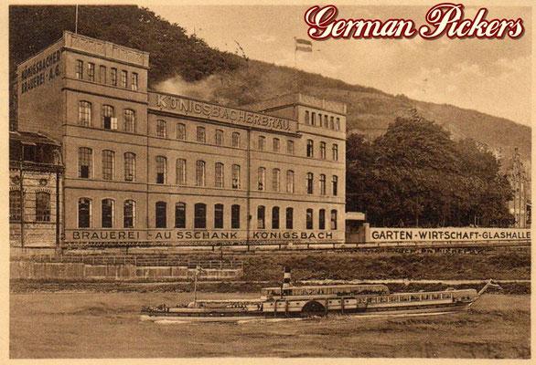 AK / Foto - Alte Ansicht der Königsbacher Brauerei - um 1930