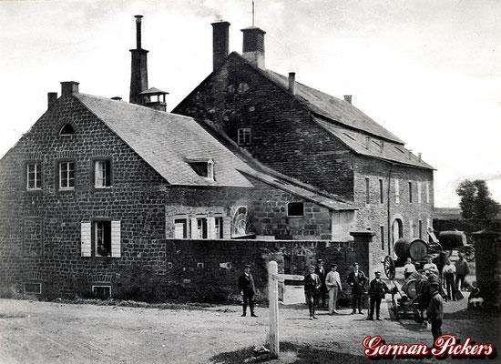 AK / Foto - Alte Ansicht der Vulkanbrauerei aus Mendig um 1920