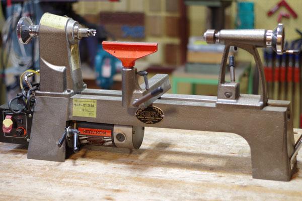 木工旋盤 指導料2,000円(税込2,160円) 棒長さ430mmまで 円盤直径350mmまで