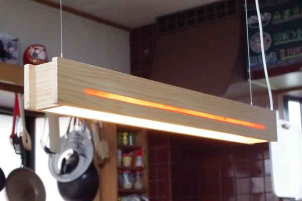 食卓の照明