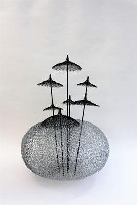 Fil de fer / fil recuit / barre en métal - 60/60 cm