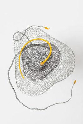 30 -30 cm / fil de fer - papier