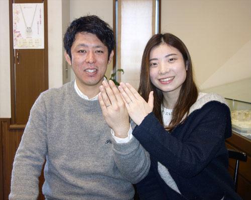 武雄市のUさんカップル