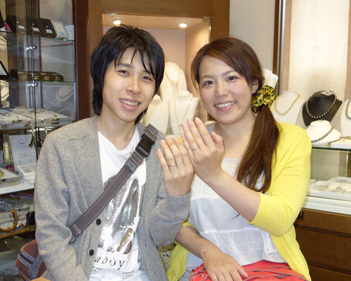 佐賀市のOさんカップル