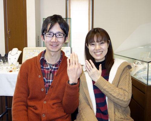 長崎県大村市のMさんカップル