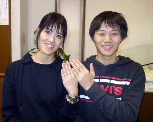 武雄市のMさんカップル