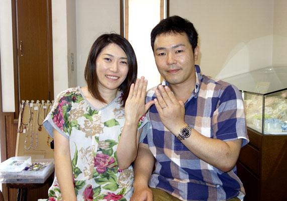 福岡県うきは市のMさんカップル